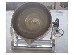 100L小型夾層鍋 出料方便不粘鍋夾層鍋制造廠