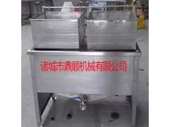 *銷售 不銹鋼電加熱油炸機 食品油炸鍋 炸丸子機
