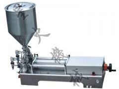 雙頭半自動玻璃膠灌裝機/牙膏半自動灌裝機/臺式膏體灌裝機