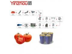 番茄醬加工設備 番茄醬生產線